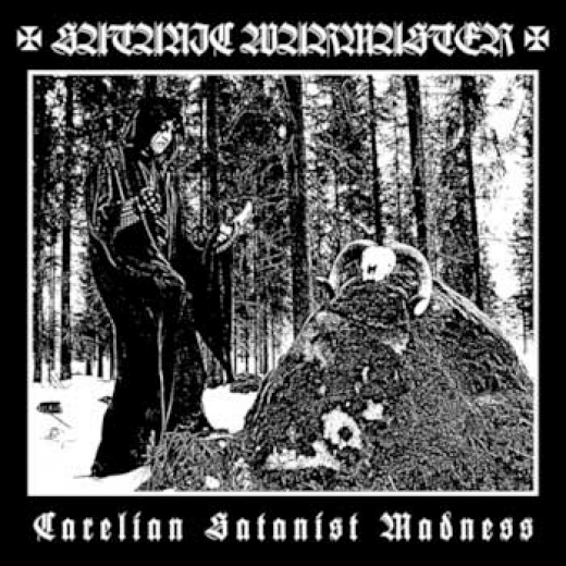 Satanic Warmaster - Carelian Satanist Madness Vinyl