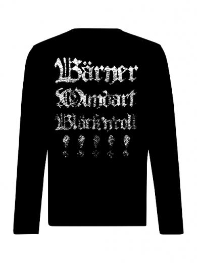 CHOTZÄ - Bärner Black Metal Terror Longsleeve Size XL