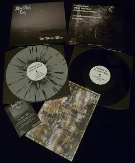 Blood Red Fog - On Death´s Wings (Black Vinyl)