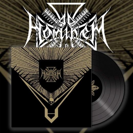 AD HOMINEM - Napalm for All Black Vinyl