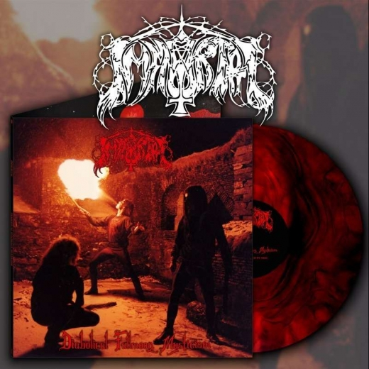 IMMORTAL - Diabolical Fullmoon Mysticism Galaxy Red Vinyl
