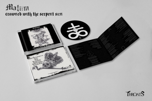 Malum - Crowned With The Serpent Sun CD
