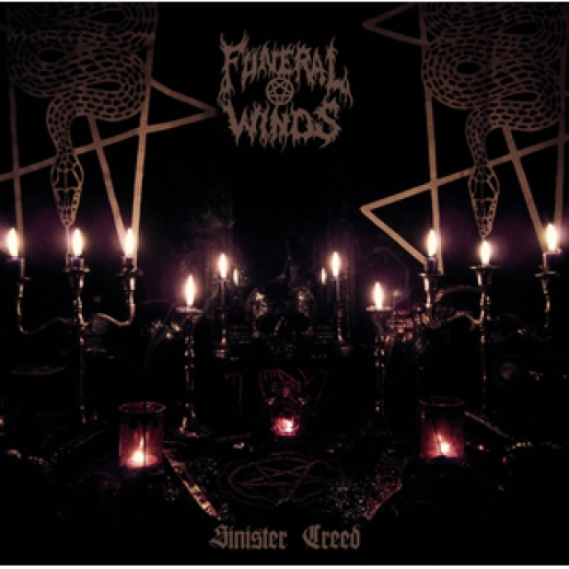 Funeral Winds - Sinister Creed Black CD