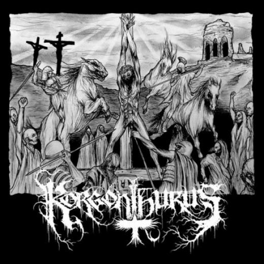 Korgonthurus - Korgonthurus/Ristillä Mädäntyen Vinyl