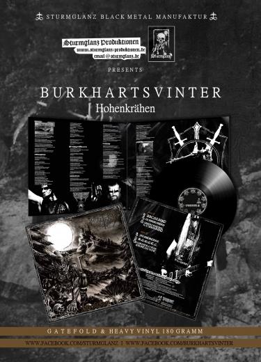 Burkhartsvinter - Hohenkrähen Gatefold Vinyl