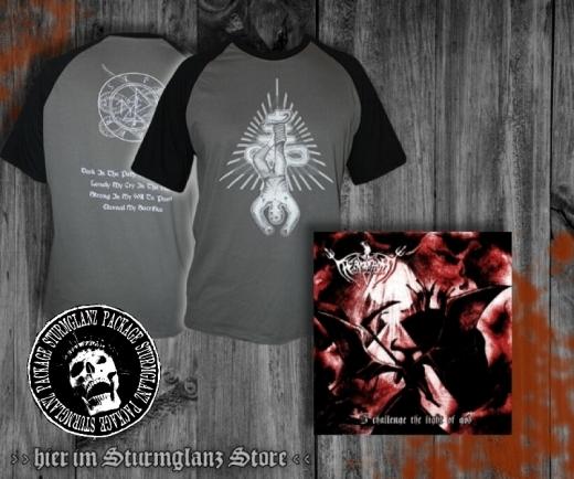 Permafrost - I Challenge the Light of God CD + T-Shirt