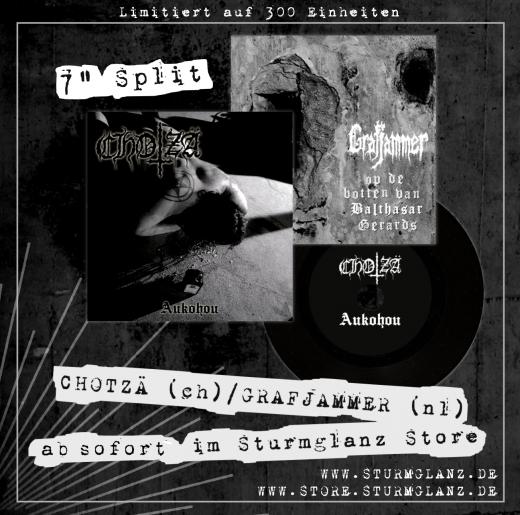 Chotzä / Grafjammer - Vinyl Split 7