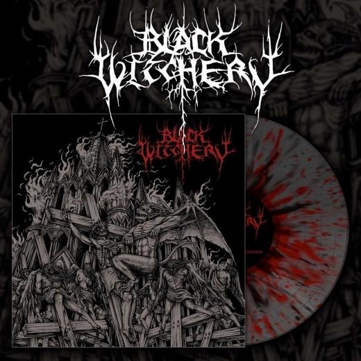 Black Witchery - Inferno Of Sacred Destruction Red Splatter Vinyl