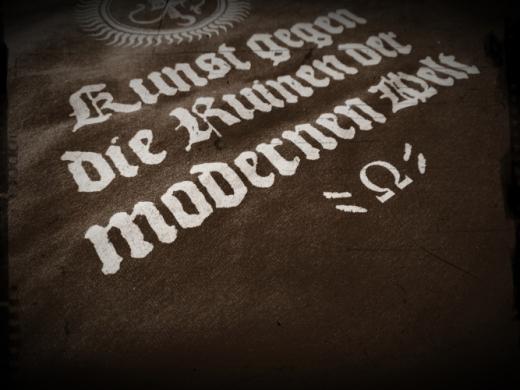 Acherontas - Kunst gegen die Ruinen... T-Shirt Größe XL