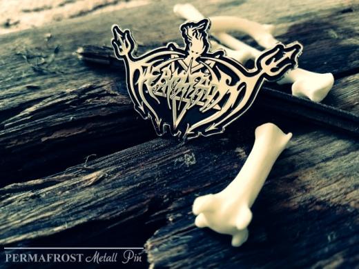 PERMAFROST - Logo Metall Pin