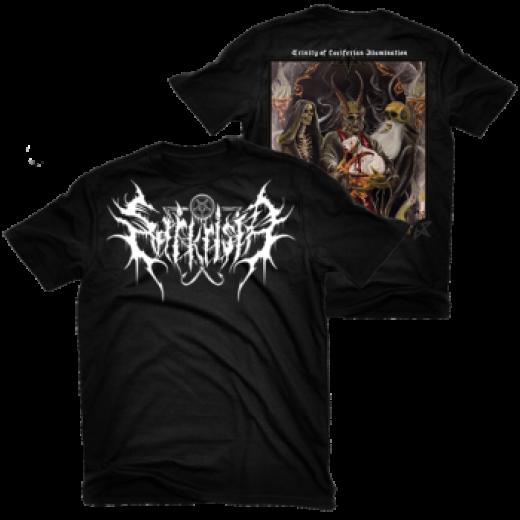 Sarkrista - Trinity of Luciferian Illumination Shirt Size L