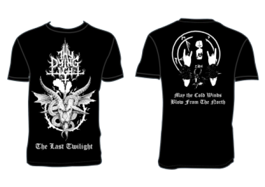 Thy Dying Light - The Last Twilight T-Shirt Size L