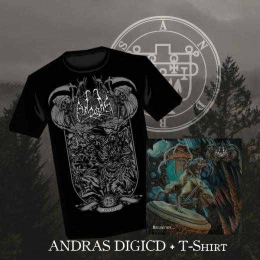 Andras - Reliquien... DigiCD + T-Shirt