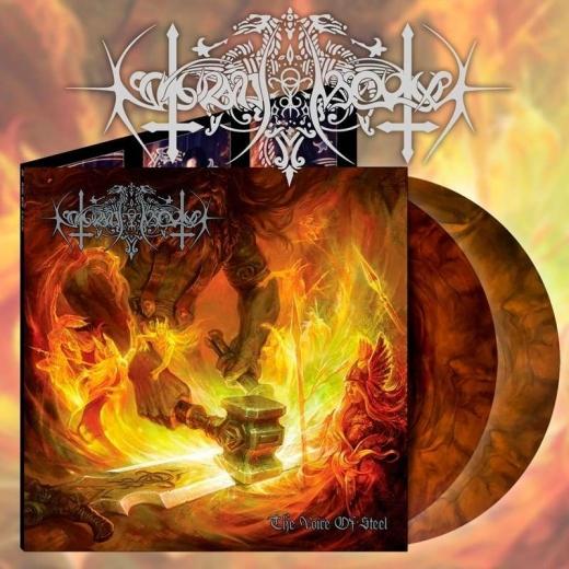 Nokturnal Mortum - The Voice of Steel Orange Galaxy Vinyl