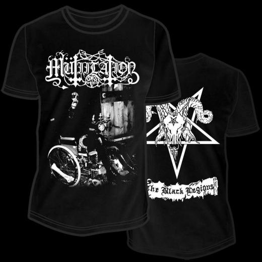 Mutiilation - The Black Legions  T-Shirt XL