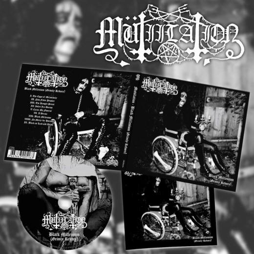 Mutiilation - Black Millenium (Grimly Reborn) DigiCD