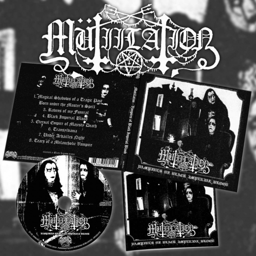 Mutiilation - Vampires of Black Imperial Blood CD