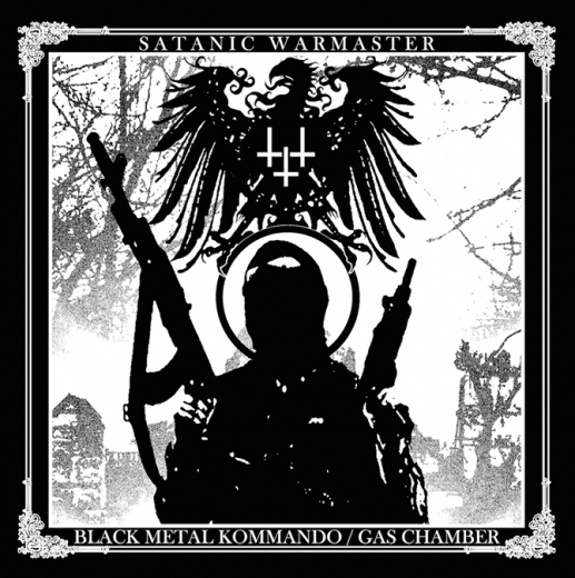 SATANIC WARMASTER - Black Metal Kommando / Gas Chamber CD