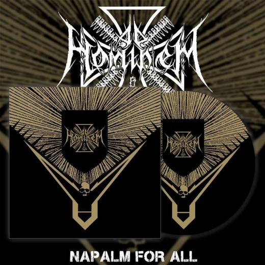 AD HOMINEM - Napalm for All Pictured Vinyl Gatefold