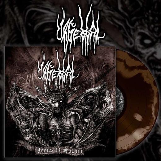 URGEHAL - Aeons In Sodom Brown & Gold Vinyl