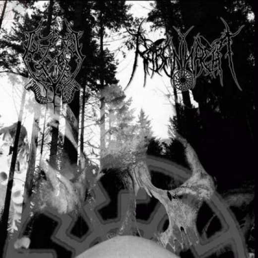 Gassturm / Rabennacht - Split 2006 CD