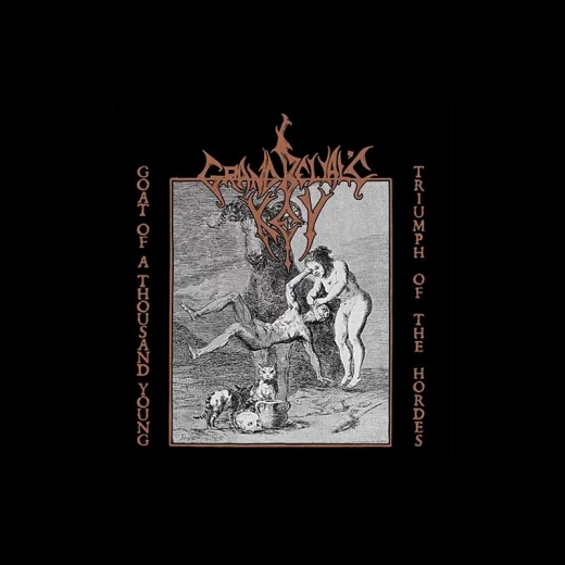 Grand Belials Key - Goat of a Thousand Young / Triumph of the Hordes DigiCD