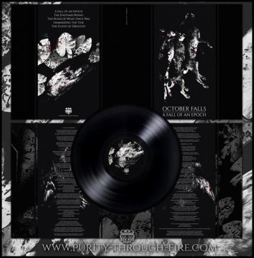 October Falls - A Fall of an Epoch Gatefold Vinyl