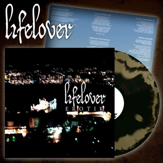 Lifelover - Erotik Gold & Black Swirl Vinyl