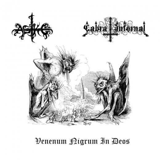 ASKE / CABRA INFERNAL - Venenum Nigrum In Does SplitCD