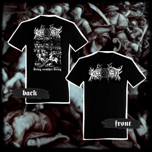 RUNENWACHT - Krieg ernährt Krieg T-Shirt Size M