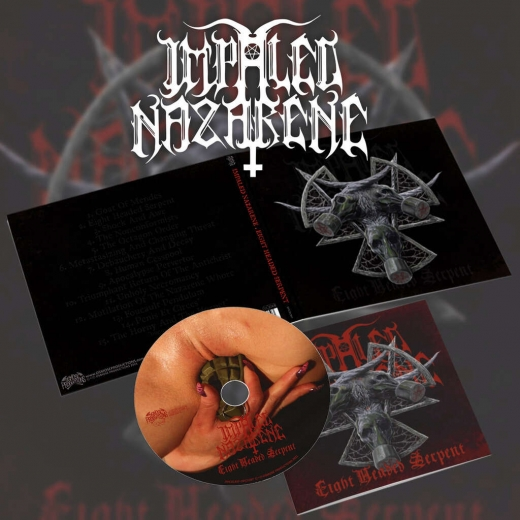 Impaled Nazarene - Eight Headed Serpent DigiCD + Bonus