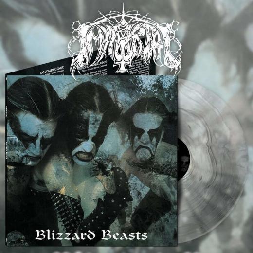 Immortal - Blizzard Beasts Silver Galaxy Gatefold Vinyl