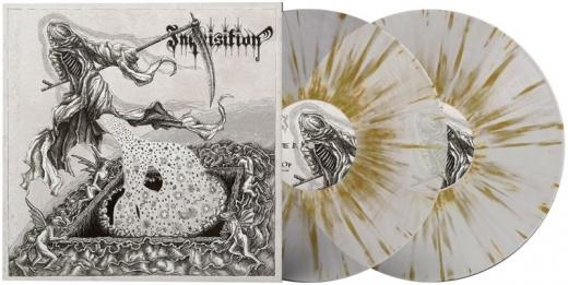 Inquisition - Black Mass For A Mass Grave Monochrome Edition DoVinyl Splatter Vinyl