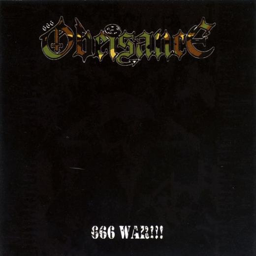 Obeisance - 666 War CD