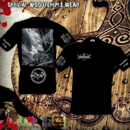 Woodtemple - Forgotten Pride T-Shirt Gr. M