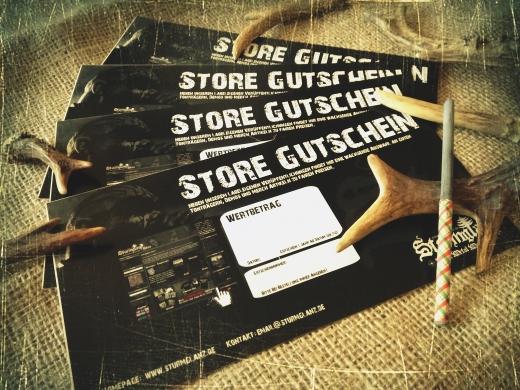 Sturmglanz Store 10 Euro Gutschein