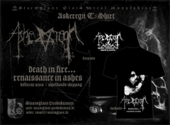 ASKEREGN - Ascheregen T-Shirt Renaissance in Ashes T-Shirt Size M