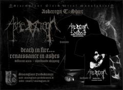 ASKEREGN - Ascheregen T-Shirt Renaissance in Ashes T-Shirt Size L