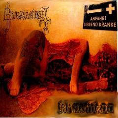 Grausamkeit / Khaomega - Anfahrt liegend Kranke CD