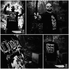 CHOTZÄ - Bärner Black Metal Terror T-Shirt Size XL