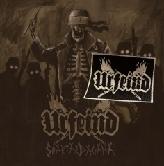 URFEIND - Swartaz Dagana CD + Logo Patch