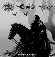 MORTUUS CAELUM / ENOID / DIZZINESS - Impetum In Tenebris Split CD