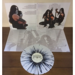 IMMORTAL - Battles in the North white/Silver Splatter Vinyl