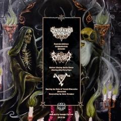 Sacrificium Carmen - Sarkrista - Malum Split LP black wax