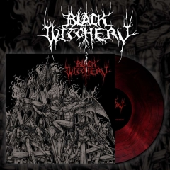 Black Witchery - Inferno Of Sacred Destruction Red Galaxy Vinyl