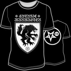 Satanic Warmaster - Satanic Warmaster T- Shirt Größe M