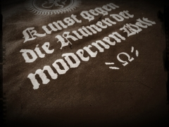 Acherontas - Kunst gegen die Ruinen... T-Shirt Größe M