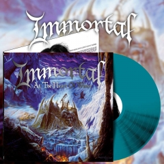 IMMORTAL - At The Heart Of Winter. Blue Galaxy Vinyl