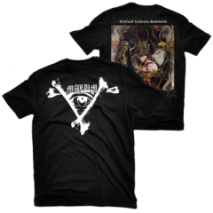 Malum - Trinity of Luciferian Illumination Shirt Size M