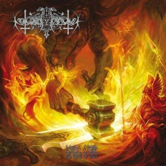 Nokturnal Mortum - The Voice of Steel Black Galaxy Vinyl